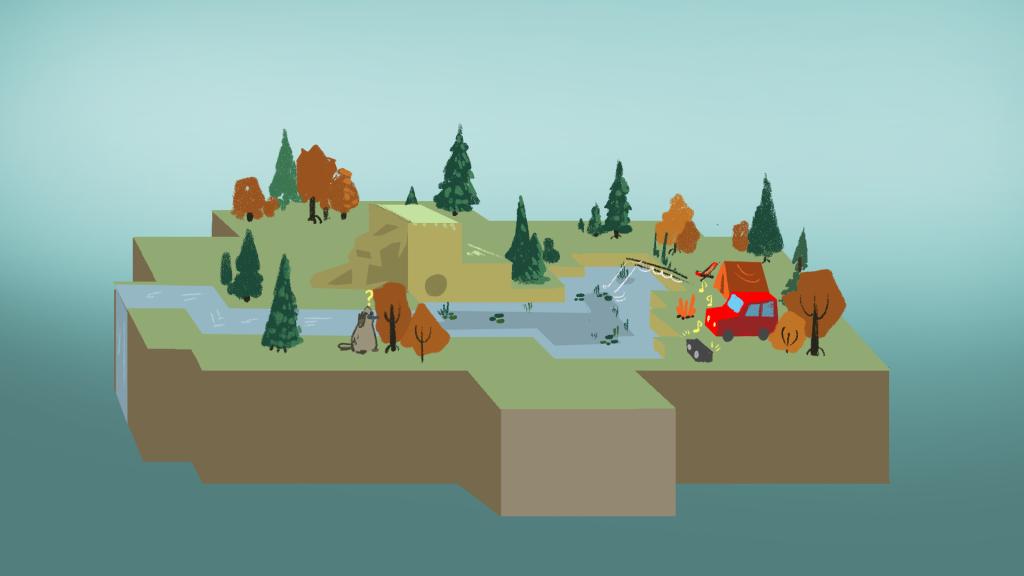 terrain design for mobile game app