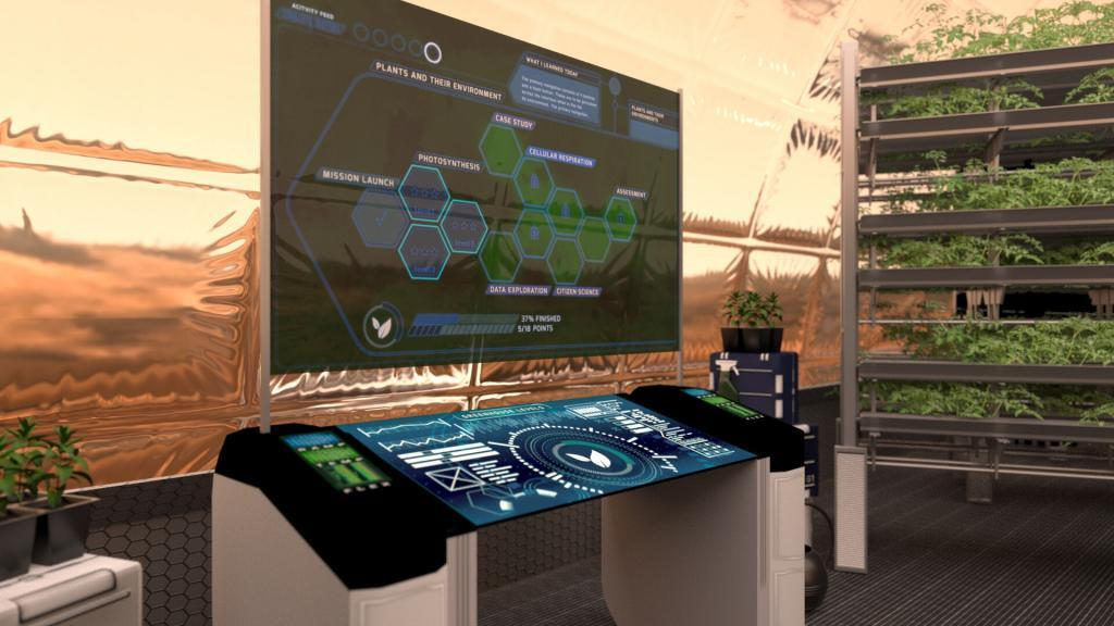 Immersive AR app