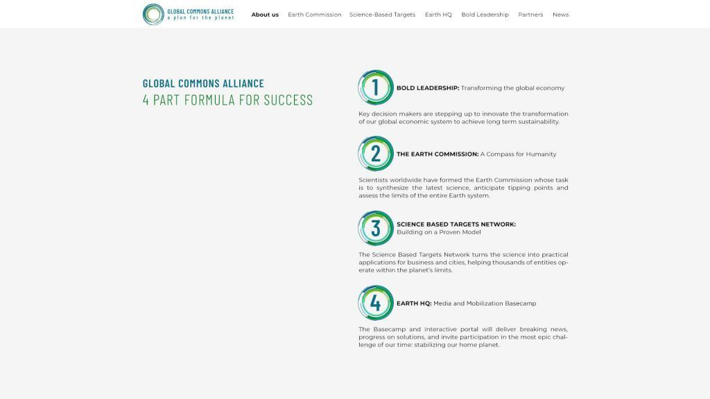4 part formula for success