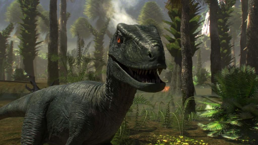 Raptor animation, natural history recreation