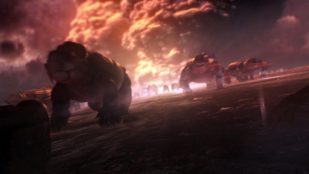 Animated Dinosaurs, CGI