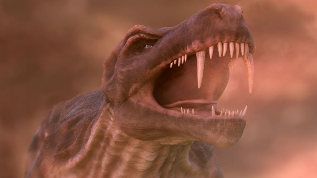 CGI Dinosaur, 3D animation
