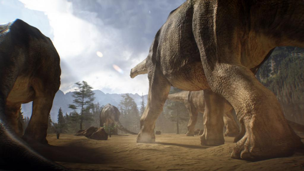 Animation and CGI of Dinosaurs
