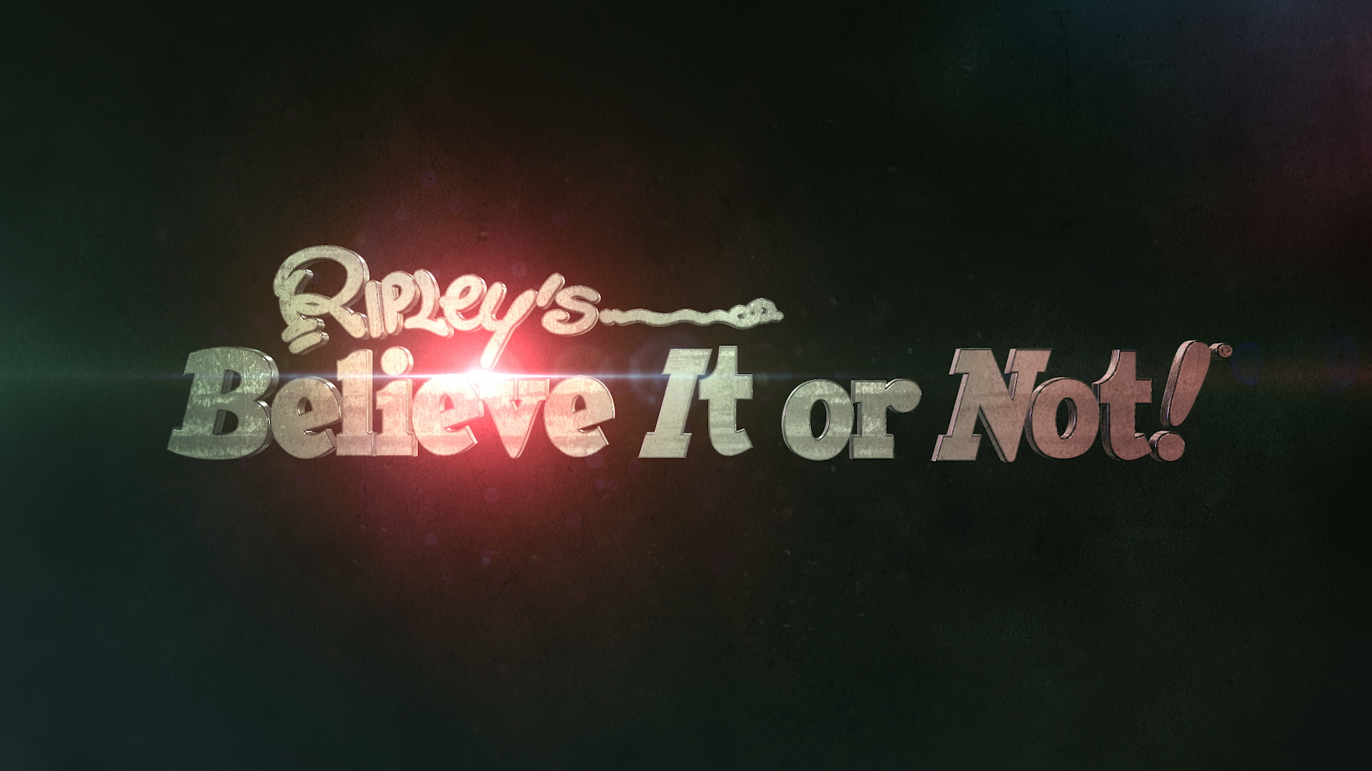 ripley's believe it or not show title logo