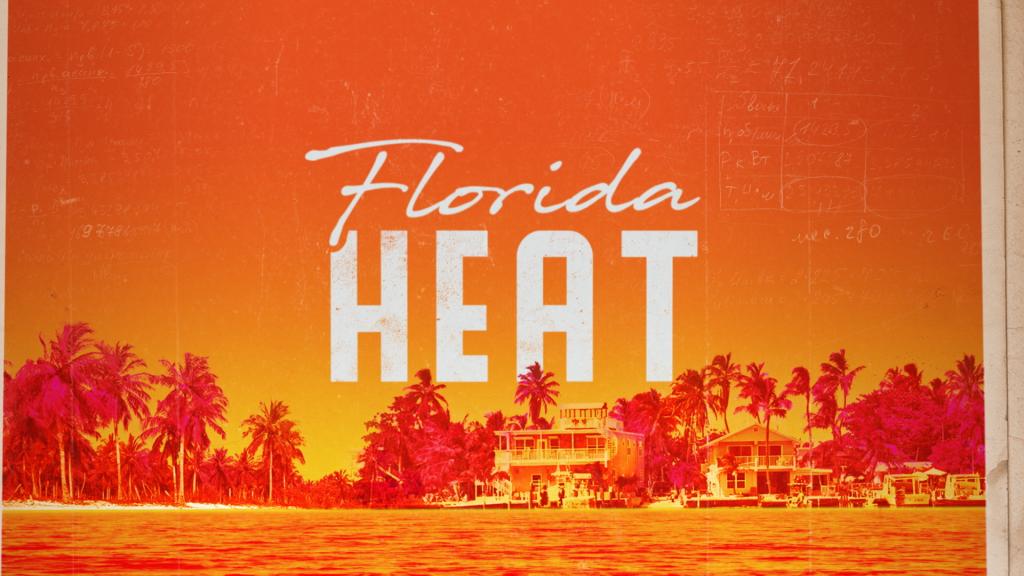 florida heat open sequence title logo