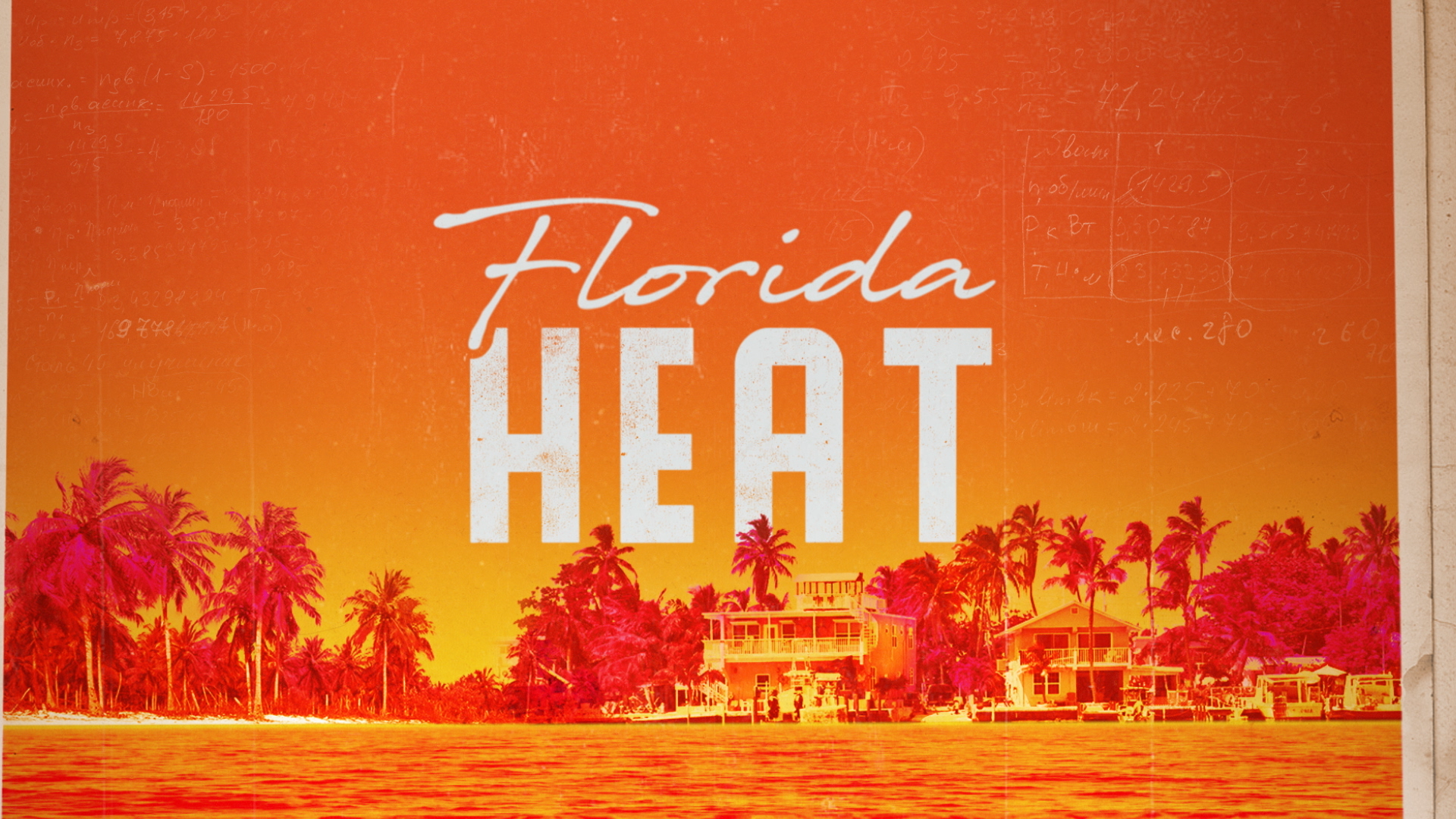 florida heat open sequence title logo